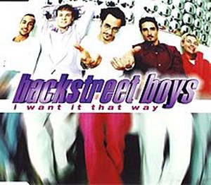 Backstreet Boys I Want It That Way