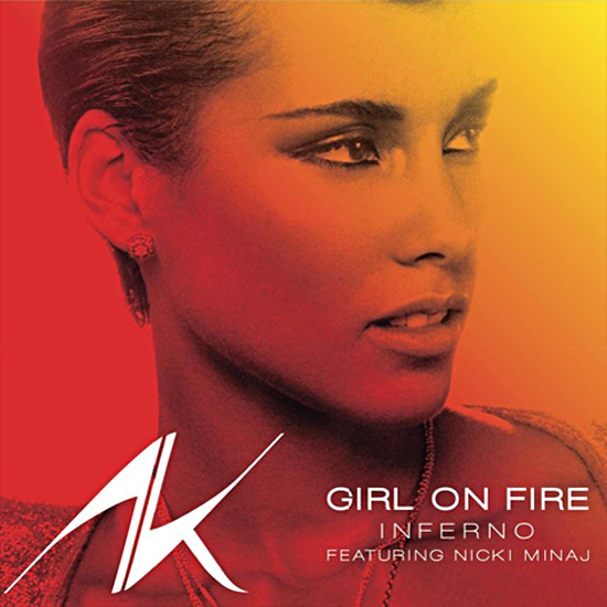 Alicia Keys Girl on Fire Inferno Version (ft. Nicki Minaj)
