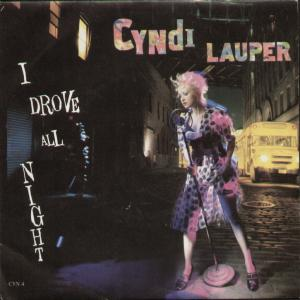 Cyndi Lauper I Drove All Night
