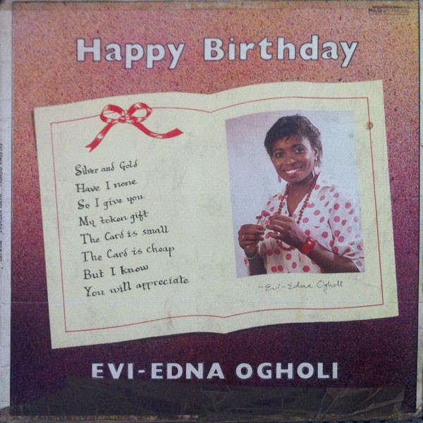 Evi Edna Ogholi Happy Birthday
