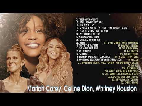 Mariah Carey Celine Dion Whitney Houston Greatest Hits (Best Songs of Divas)