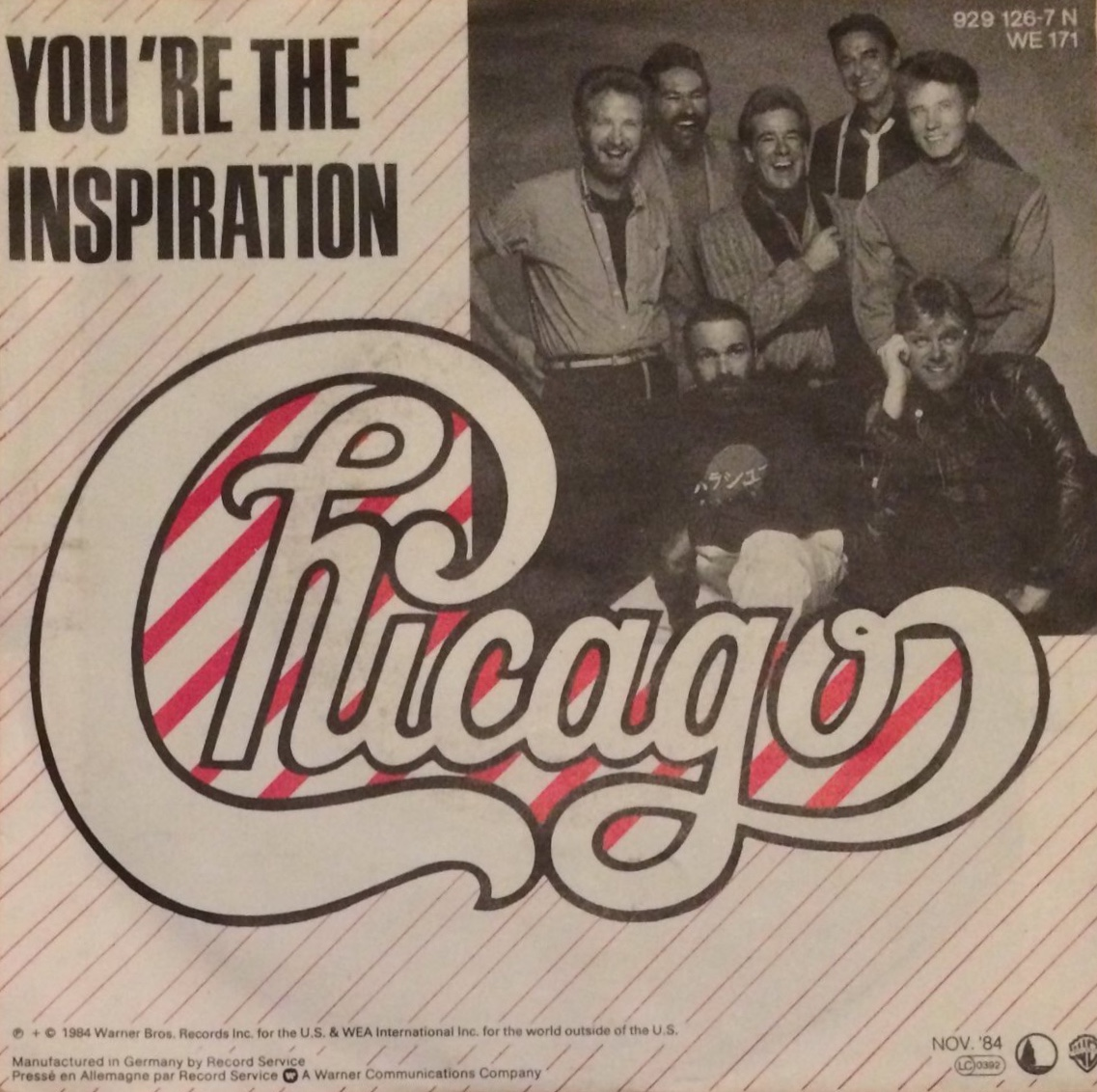 Chicago You're the Inspiration